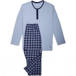 Пижама мужская синяя 030895/5608_0624