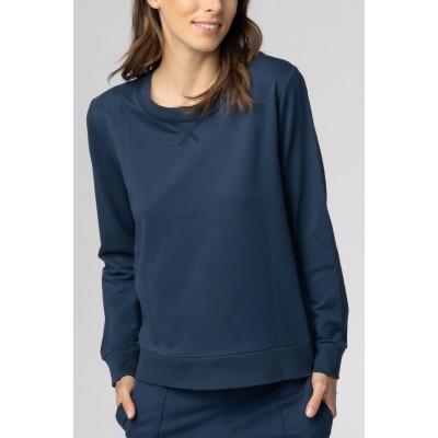 Толстовка женская темно-синяя MEY 16964_408
