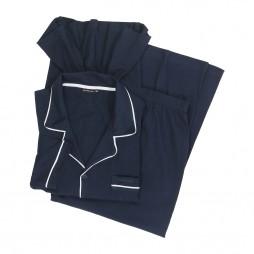 Пижама мужская темно-синяя 451376/4009_7013