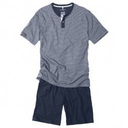 Пижама мужская темно-синяя 70907/5607_0632