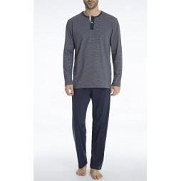 Пижама мужская темно-синяя 70999/5607_0632