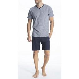 Пижама мужская темно-синяя 71077/5607_0632
