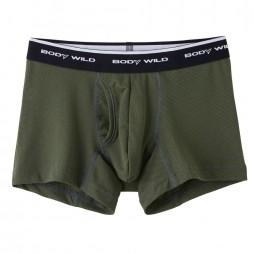 Трусы мужские боксеры-брифы цвета хаки BODY WILD BWC083J_09