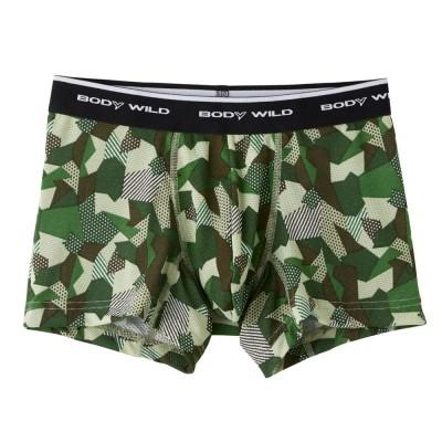 Трусы мужские боксеры-брифы цвета хаки BODY WILD BWC085J_09