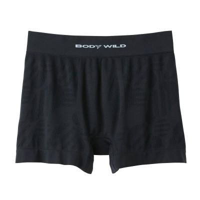 Трусы мужские боксеры-брифы черные с холодящим эффектом BODY WILD BWC892J_97
