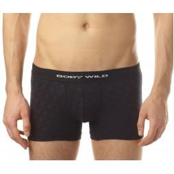 Трусы мужские боксеры-брифы черные BODY WILD BWE064G_97