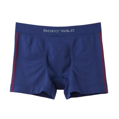 Трусы мужские боксеры-брифы синие BODY WILD BWS852J_64