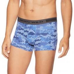 Трусы мужские боксеры-брифы голубые теплосберегающие бесшовные BODY WILD BWY376G_59