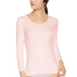 Футболка женская розовая бесшовная KIREILABO KL1846R_P4