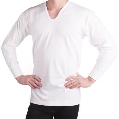 Футболка мужская белая теплосберегающая KR7110_03