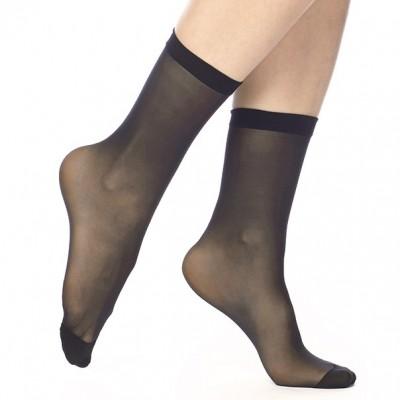 Носки женские черные с холодящим эффектом KVS230_026
