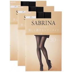 Колготки 30 ден черные с дезодорирующим эффектом SABRINA SB460_026