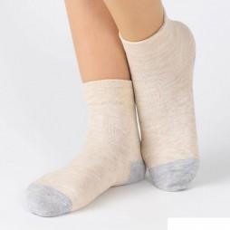 Носки женские бежевые с холодящим эффектом SABRINA SQK867_782