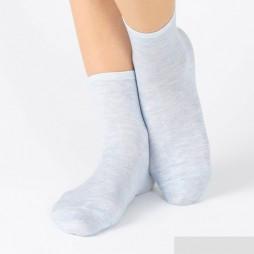 Носки женские голубые SABRINA SQK879_104