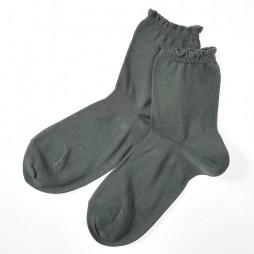 Носки женские темно-зеленые SABRINA SQL857_753