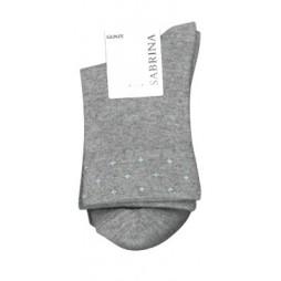 Носки женские серые с кашемиром SABRINA SQL870_774