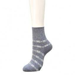 Носки женские серые с кашемиром SABRINA SQL871_774