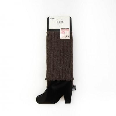 Гетры женские коричневые с шерстью TE7821_754