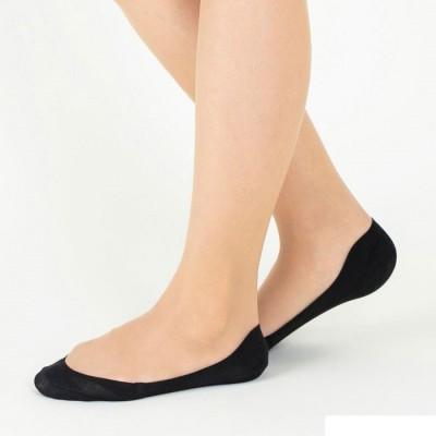 Следки женские черные TUCHÉ LEG WEAR TQK501_026