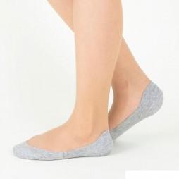 Следки женские серые TUCHÉ LEG WEAR TQK501_774