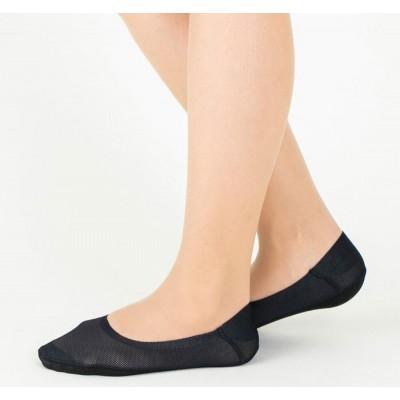 Следки женские черные TUCHÉ LEG WEAR TQK510_026