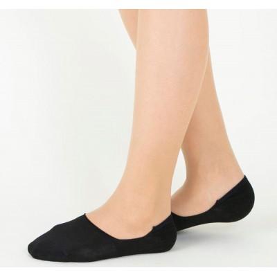 Следки женские черные TUCHÉ LEG WEAR TQK601_026