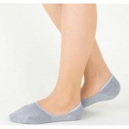 Следки женские светло-серые TUCHÉ LEG WEAR TQK601_161