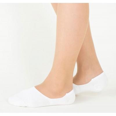 Следки женские белые TUCHÉ LEG WEAR TQK601_750