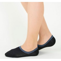 Следки женские черные TUCHÉ LEG WEAR TQK604_026