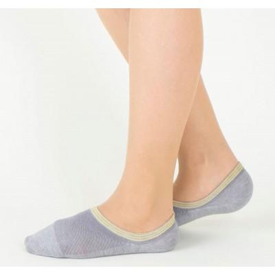 Следки женские светло-серые TUCHÉ LEG WEAR TQK604_161
