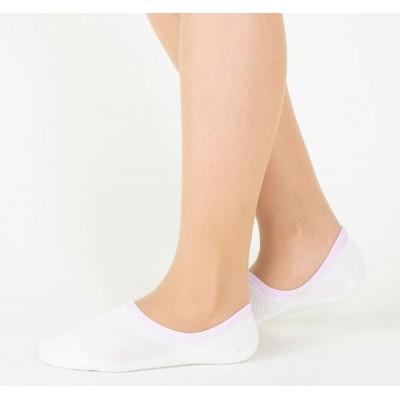 Следки женские белые TUCHÉ LEG WEAR TQK604_750