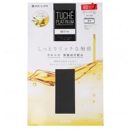 Колготки 80 ден коричнево-серые с увлажняющим эффектом TUCHE  TU150_434