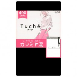 Колготки 400 ден черные с кашемиром TUCHÉ LEG WEAR TZJ520_026